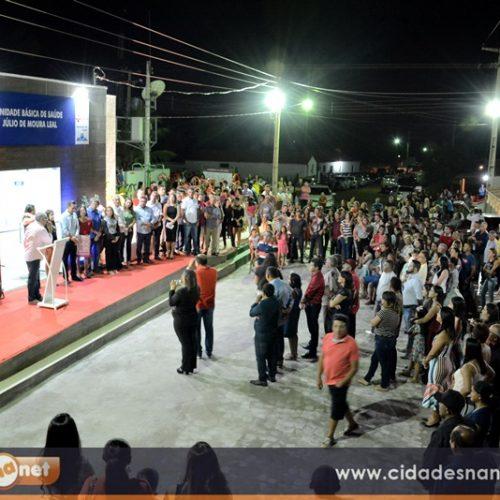 FOTOS | Evento de inaugurações e entrega de ambulância no povoado Muquém, em Geminiano