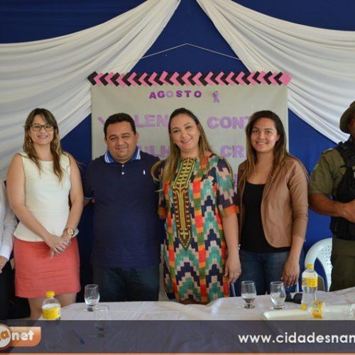 Promotora de Justiça ministra palestra sobre violência contra a mulher em Caridade do Piauí