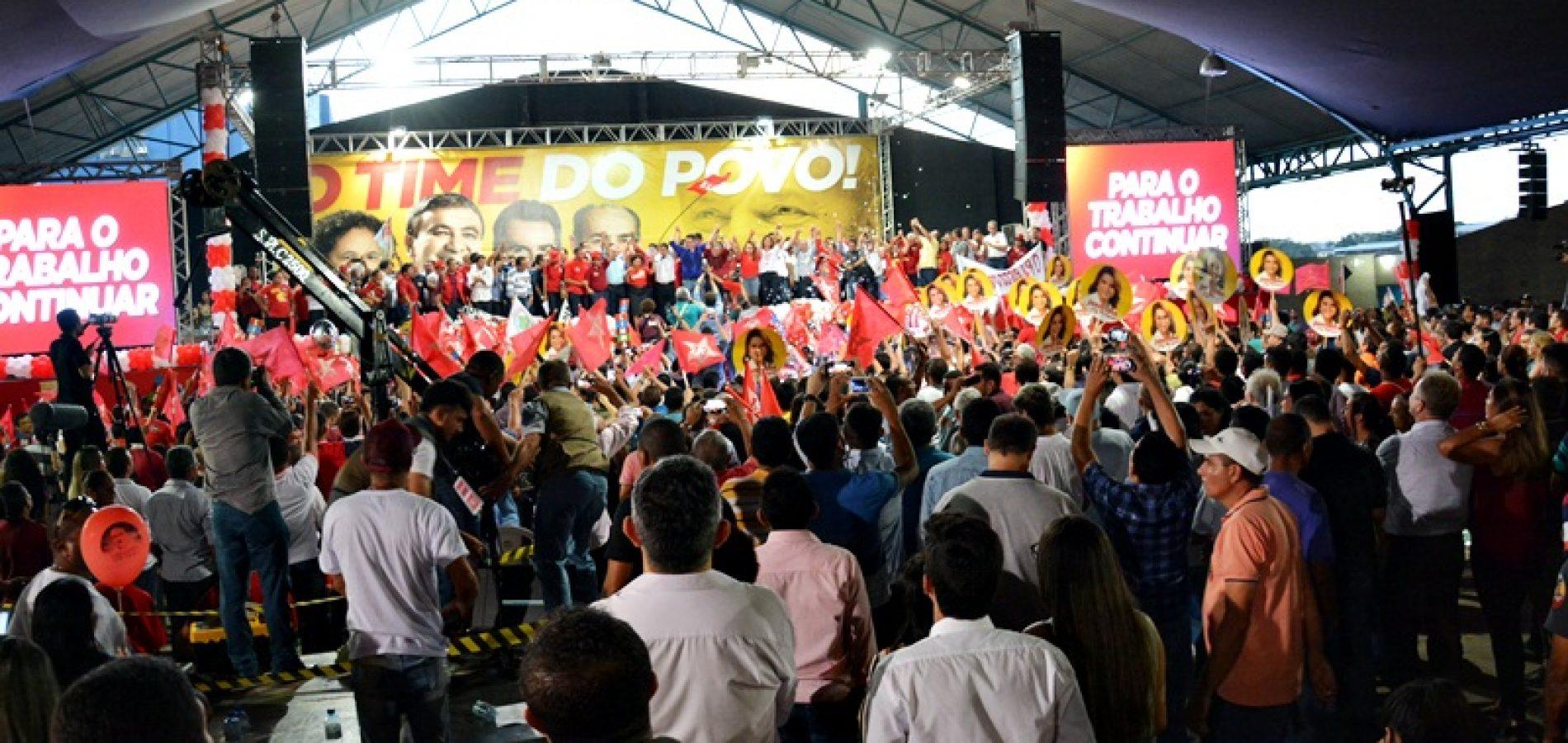 FOTOS | Convenções estadual dos partidos governistas em Teresina