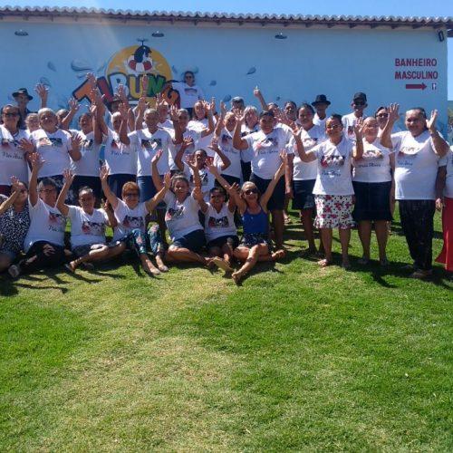 Social de Caldeirão Grande promove dia de lazer para idosos do Serviço de Convivência no Tibungo Park