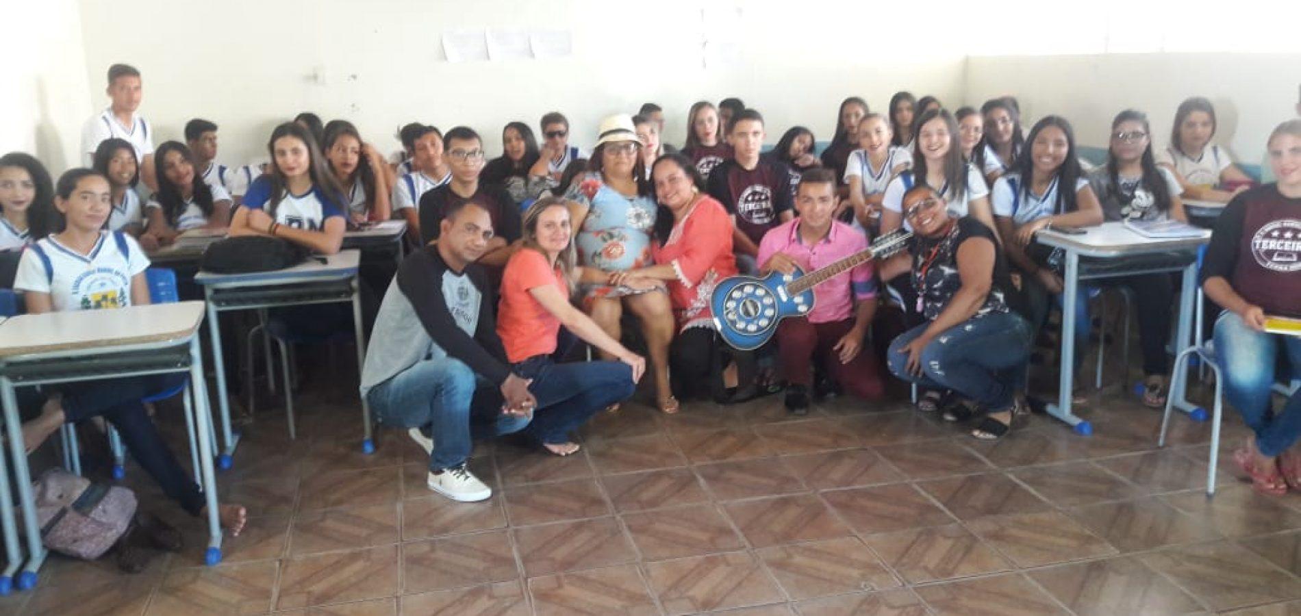 """Com diversas atividades, """"Semana Presente"""" é realizada na U. E Rafael Manoel da Costa em Massapê do PI"""
