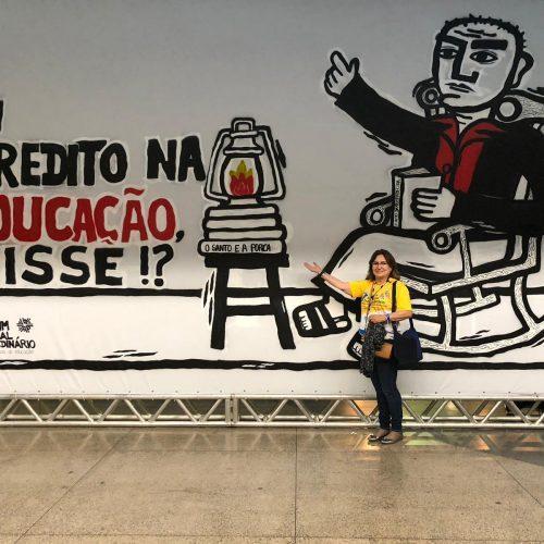 Secretária de Educação de Fronteiras participa do 7º Fórum Nacional Extraordinário dos DMs em Recife