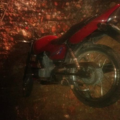 Jovem morre ao cair da motocicleta na PI 459 em Queimada Nova