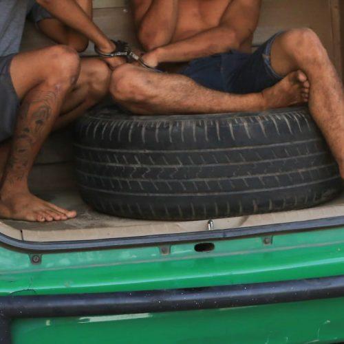 Adolescentes são rendidos por populares após assalto no Piauí