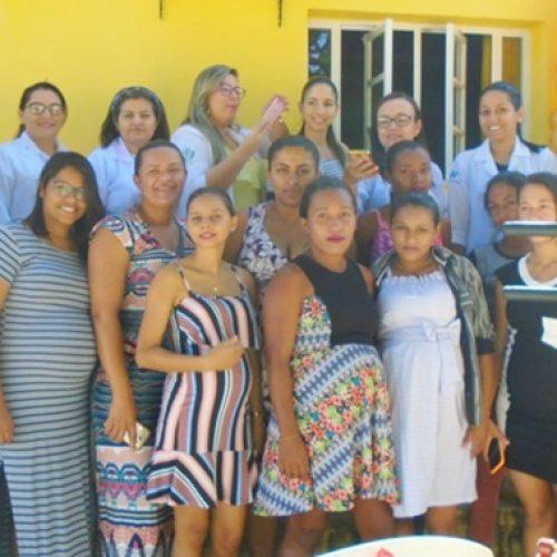 Saúde de Curral Novo do Piauí realiza ações do Agosto Dourado