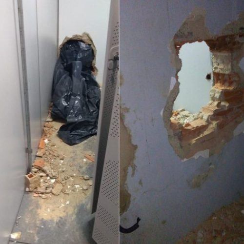 Bandidos fogem sem levar dinheiro após arrombar banco no Piauí