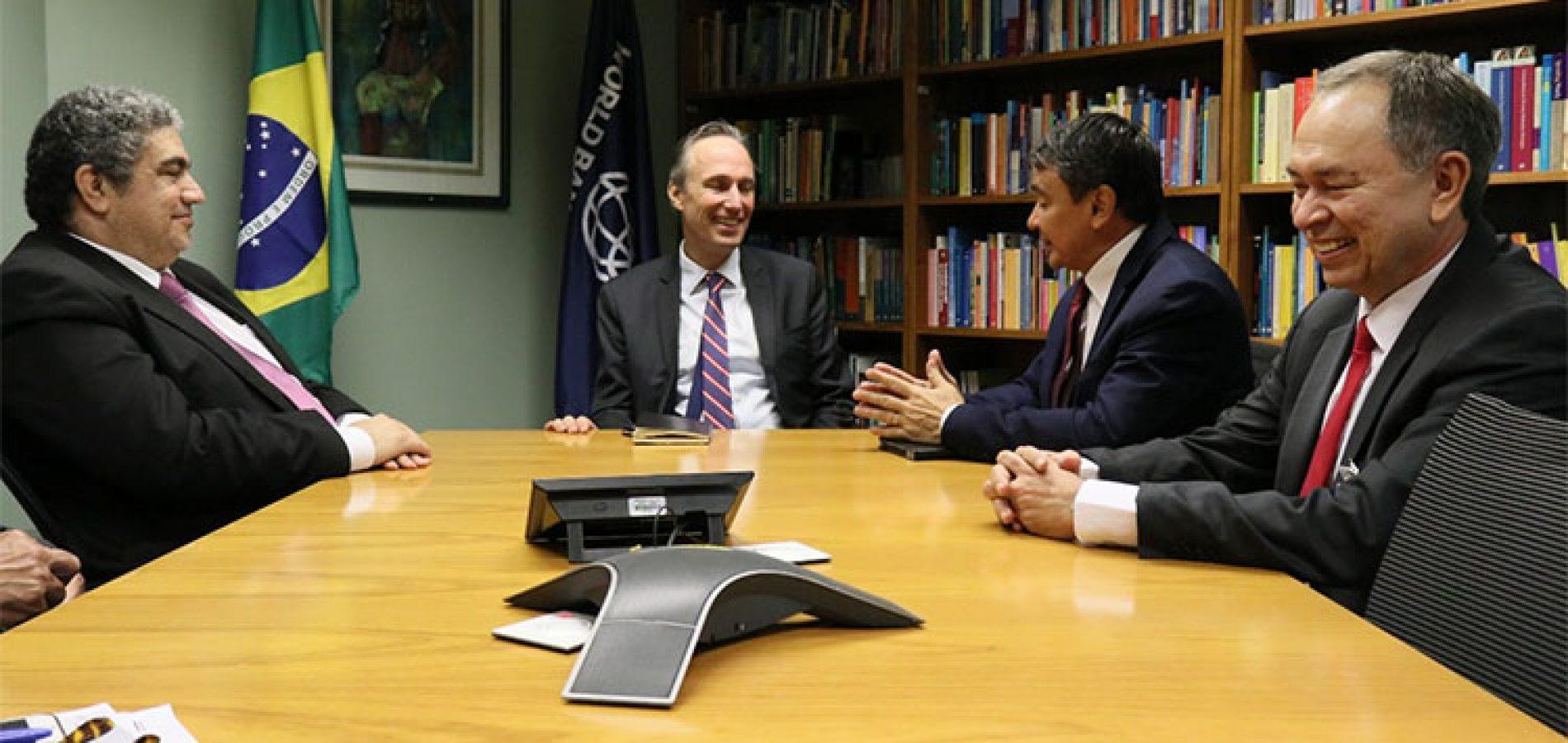 Governador debate com Banco Mundial investimentos de R$ 1 bilhão para o Piauí