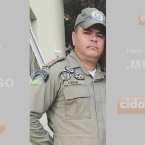 PM de Paulistana fica em estado grave após sofrer acidente de moto