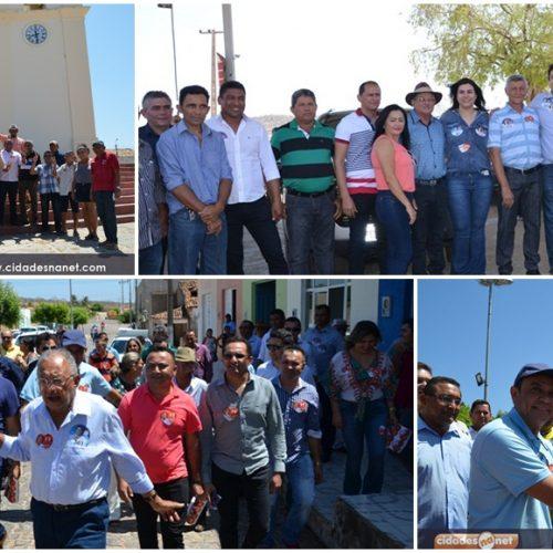 Dr. Pessoa e comitiva visitam municípios de Jaicós e Patos do Piauí; veja fotos