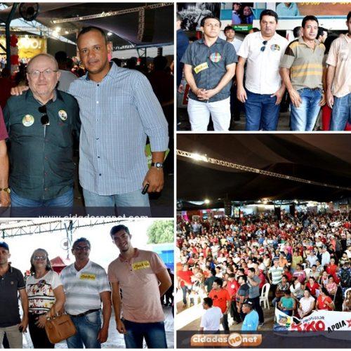 Comitiva de Marcolândia participa das convenções que homologam candidatura da chapa governista
