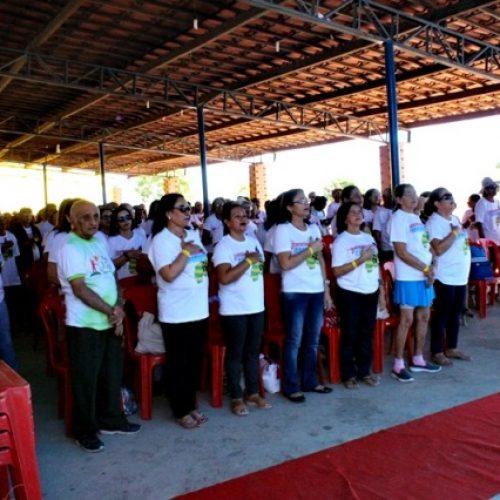 Idosos de Vera Mendes participam de II Intercâmbio Regional de Capoterapia em Jaicós