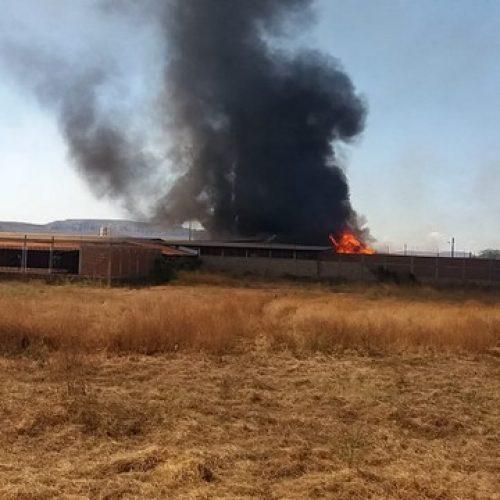 Depósito do Armazém Nordeste é tomado por incêndio de grandes proporções
