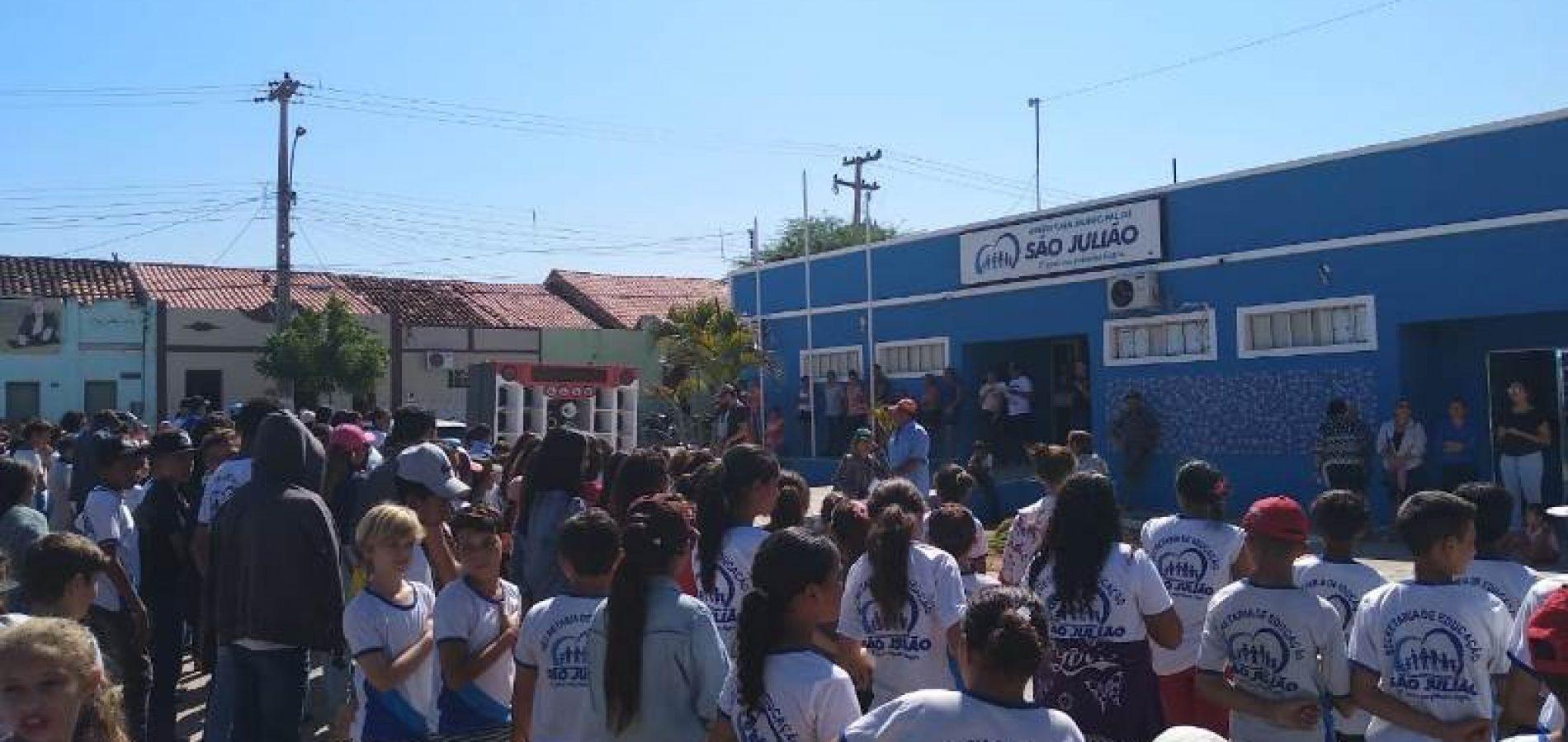 SÃO JULIÃO | Prefeitura se prepara para desfile de 07 de Setembro