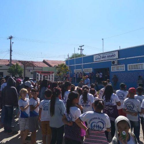 SÃO JULIÃO   Prefeitura se prepara para desfile de 07 de Setembro