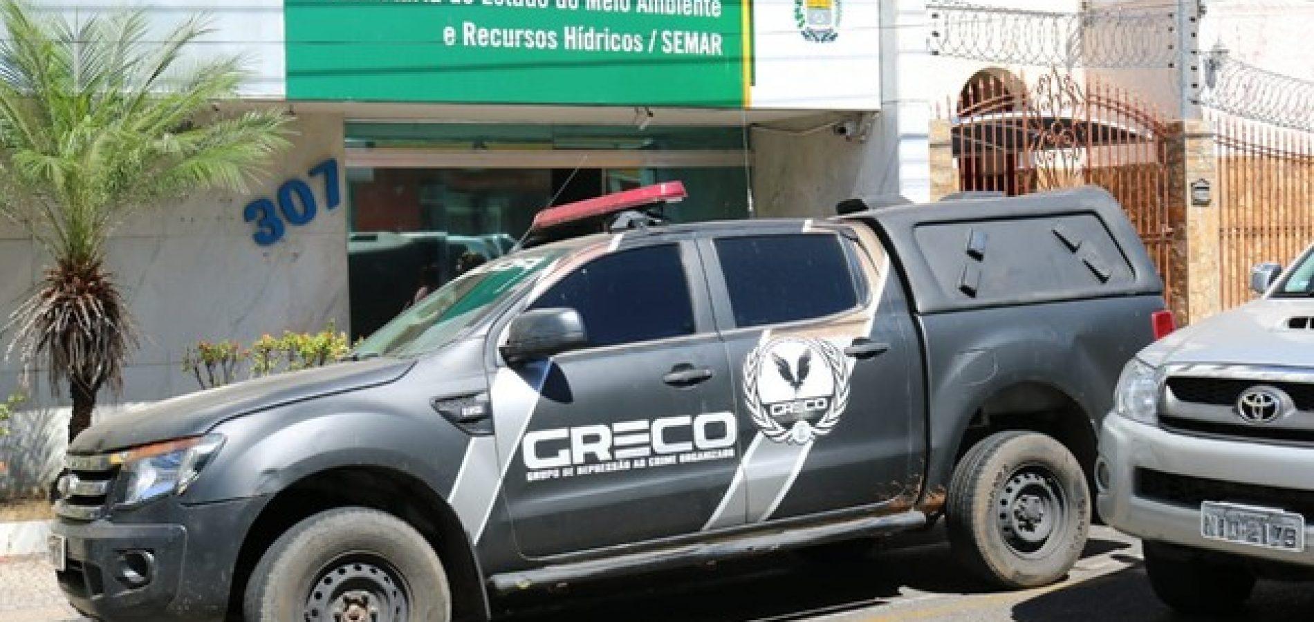 Polícia diz que superintendente, auditores e empresários presos negociavam licenças ambientais no Piauí