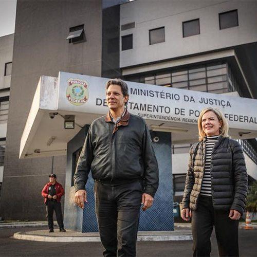 Justiça nega o bloqueio imediato de bens de Fernando Haddad