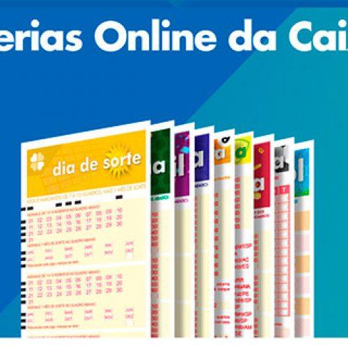 Caixa lança site para apostas em loterias pela internet