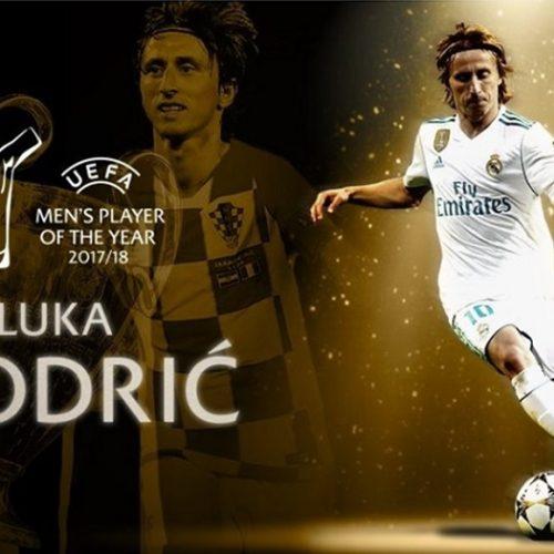 Luka Modric bate Cristiano Ronaldo e é eleito melhor jogador da Europa