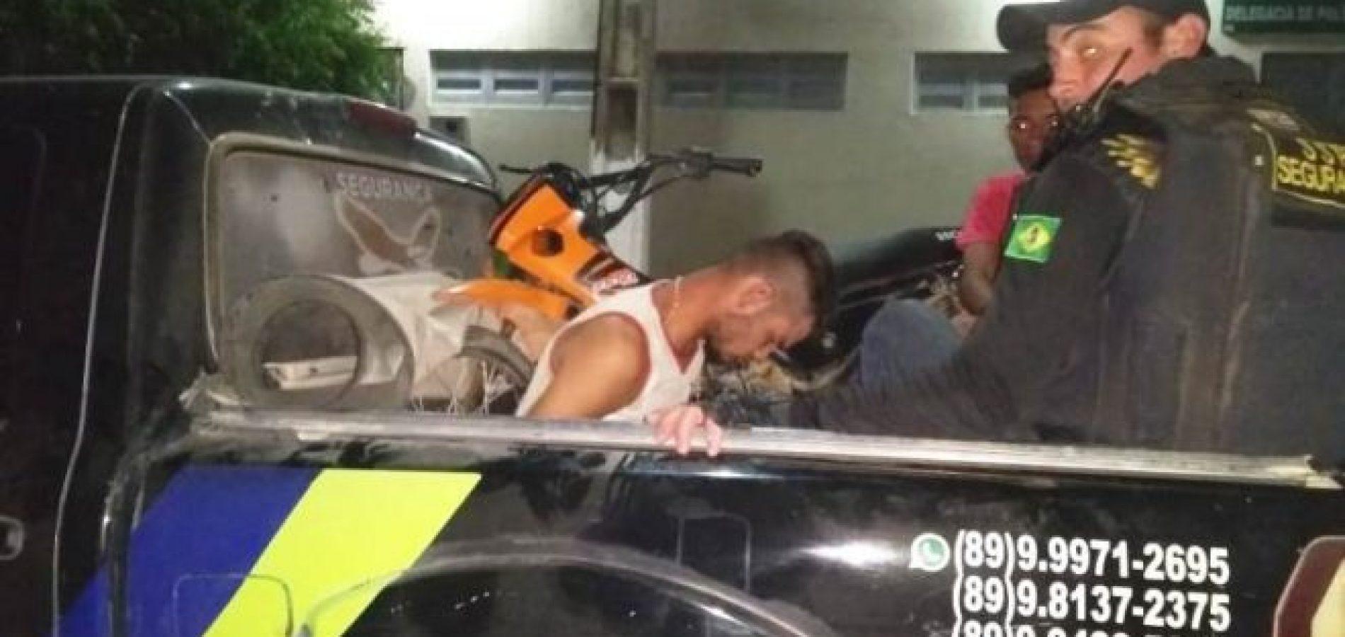 Moto furtada em São Julião é recuperada pela polícia em Picos; suspeito foi preso