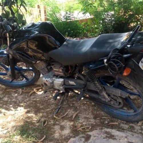 Duas motocicletas roubadas são recuperadas pela PM no Piauí