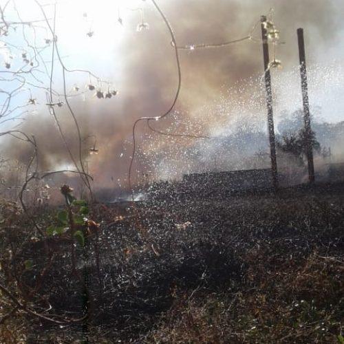 Incêndio atinge estrutura que abrigará Novo Hospital de Picos