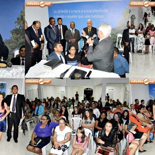 Culto marca posse do novo pastor da Igreja Assembleia de Deus de Missões de Alegrete do Piauí