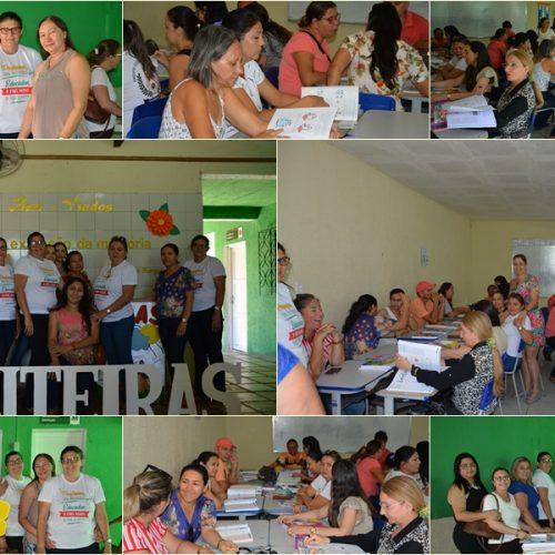 FRONTEIRAS | Professores da rede municipal de ensino fazem escolha de livro didático