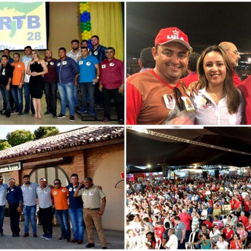 ALEGRETE | Caravana do prefeito Márcio Alencar participa de Convenção Estadual em Teresina