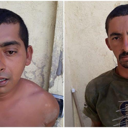 Dois irmãos suspeitos de praticar atos de vandalismo e outros crimes são presos em Francisco Macedo