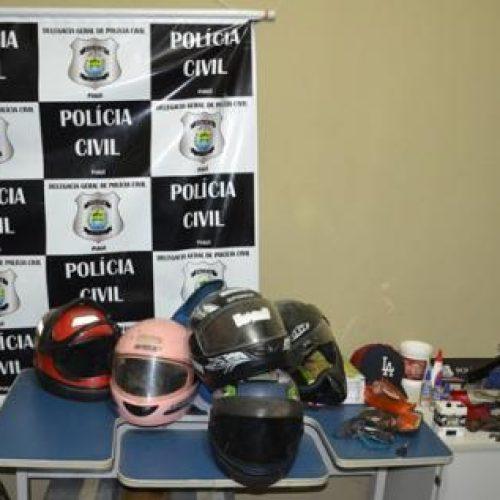 PICOS | PC apreende menores e prende homem furtando materiais do antigo prédio da Delegacia Regional