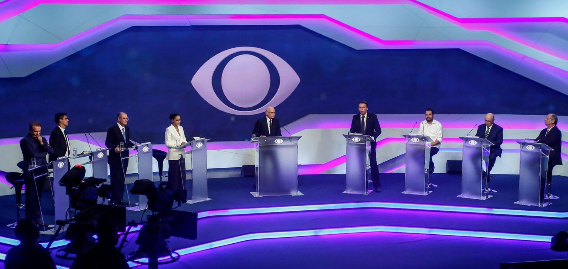 Alckmin vira alvo durante debate entre candidatos à Presidência