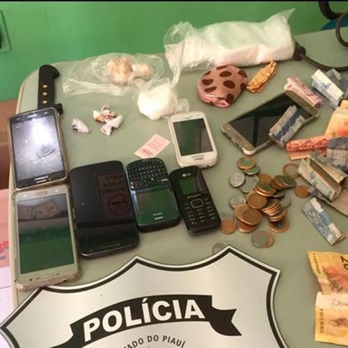 Mãe e filha são presas por tráfico de drogas no Piauí