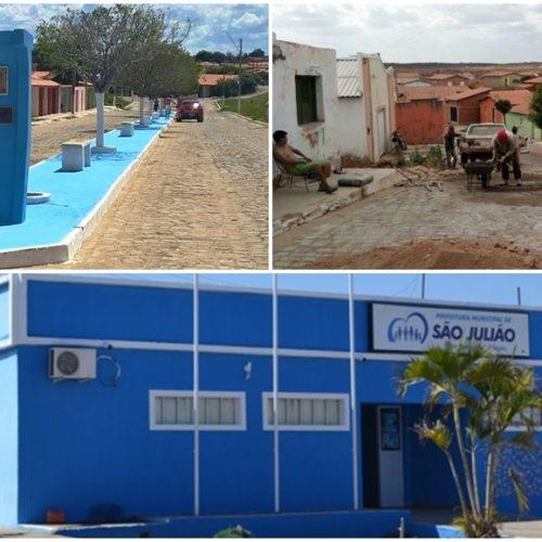 Prefeitura investe em limpeza e recuperação de praças, avenidas e órgãos públicos de São Julião