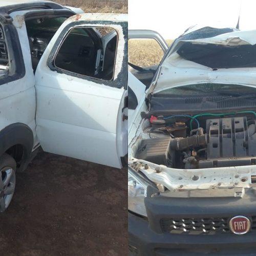 Mulher morre e quatro pessoas ficam feridas em acidente na PI 247