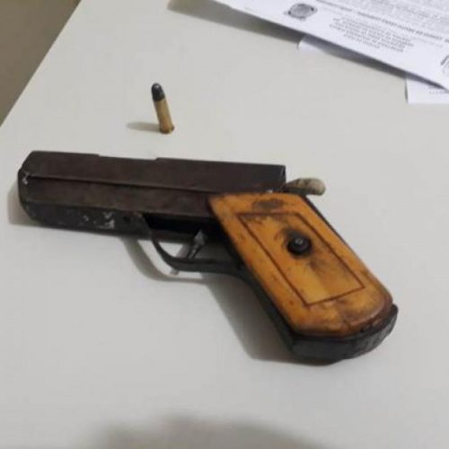 Polícia militar já apreende 13 armas de fogo em Picos