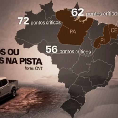CNT classifica o Piauí como o terceiro estado com as piores estradas do Brasil