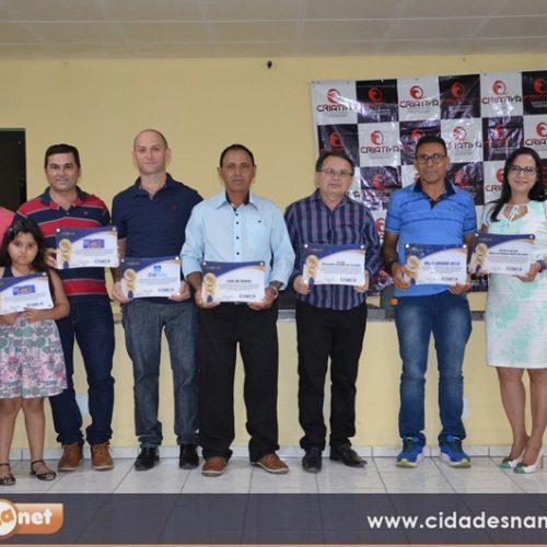 Criativa premia profissionais e empresas com o prêmio 'Marcas de Ouro 2018′ em Belém do Piauí