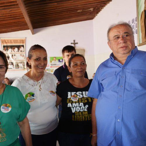 FRONTEIRAS   Deputado Federal Heráclito Fortes visita prefeita Maria José