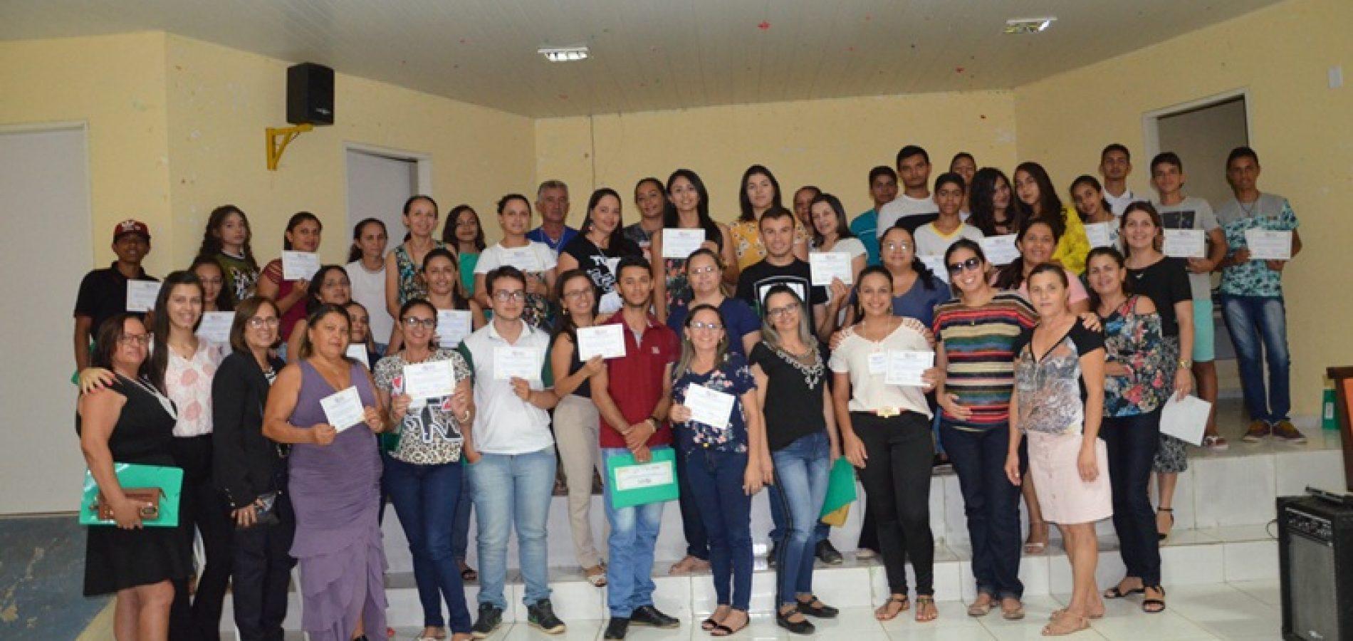 VIII Conferência municipal dos direitos da criança e do adolescente é realizada em Caldeirão Grande