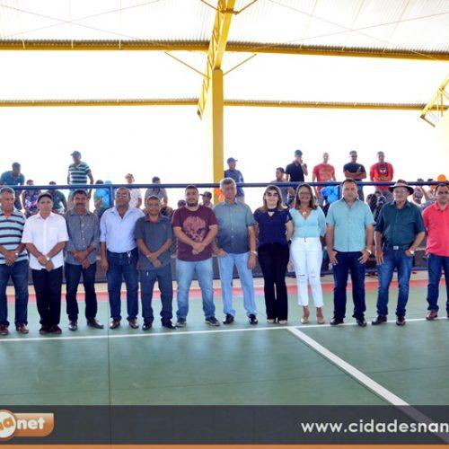FOTOS | Inauguração da Quadra Poliesportiva e final do Campeonato Municipal em Patos do Piauí