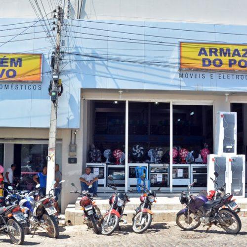 JAICÓS | Armazém do Povo lança promoção e vai sortear moto e mais 8 prêmios entre clientes