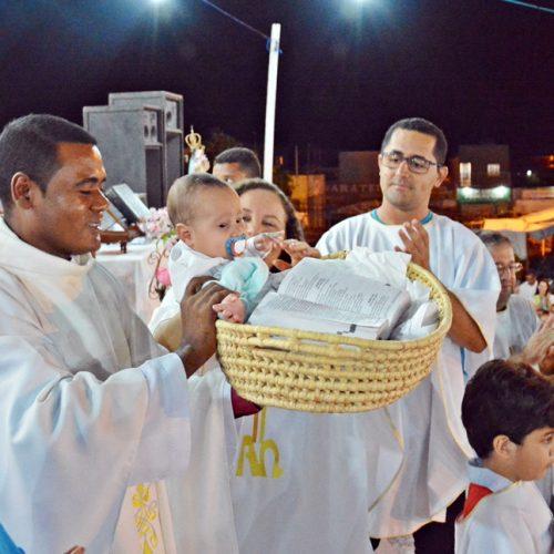 Padre Marcos Roberto preside a 3ª noite dos festejos de Nossa Senhora das Mercês em Jaicós