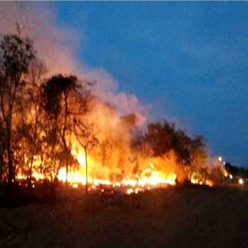 Incêndios em cidades do interior do PI já duram 3 dias; prefeitos pedem ajuda