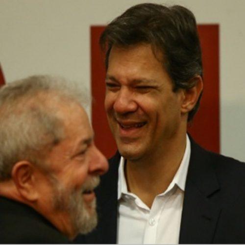 Executiva do PT aprova nome de Haddad como novo candidato à Presidência