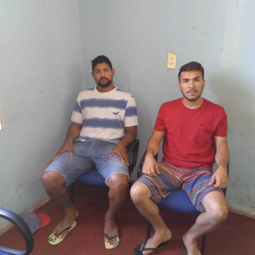 Dupla suspeita de tráfico de drogas é presa em Paulistana. Veja!