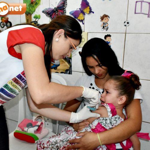 Secretaria de Saúde de Alegrete do Piauí imunizou mais de 95% das crianças contra o Sarampo e a Poliomielite