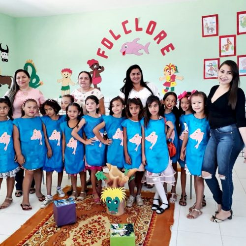 ALEGRETE | Escola Pedro Cazé de Malhada Alta realiza atividades lúdicas ao Folclore brasileiro