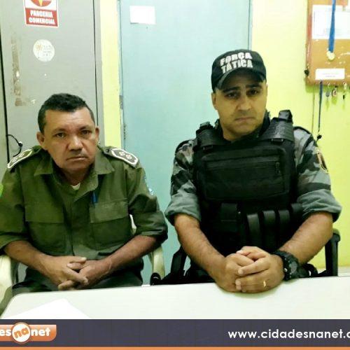 Região de Marcolândia vive onda de assaltos; Polícia Militar faz reunião conjunta para combater crimes