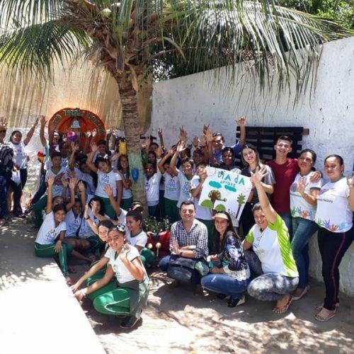 Educação de Geminiano desenvolve projeto de hortase arborizaçãonas escolas municipais