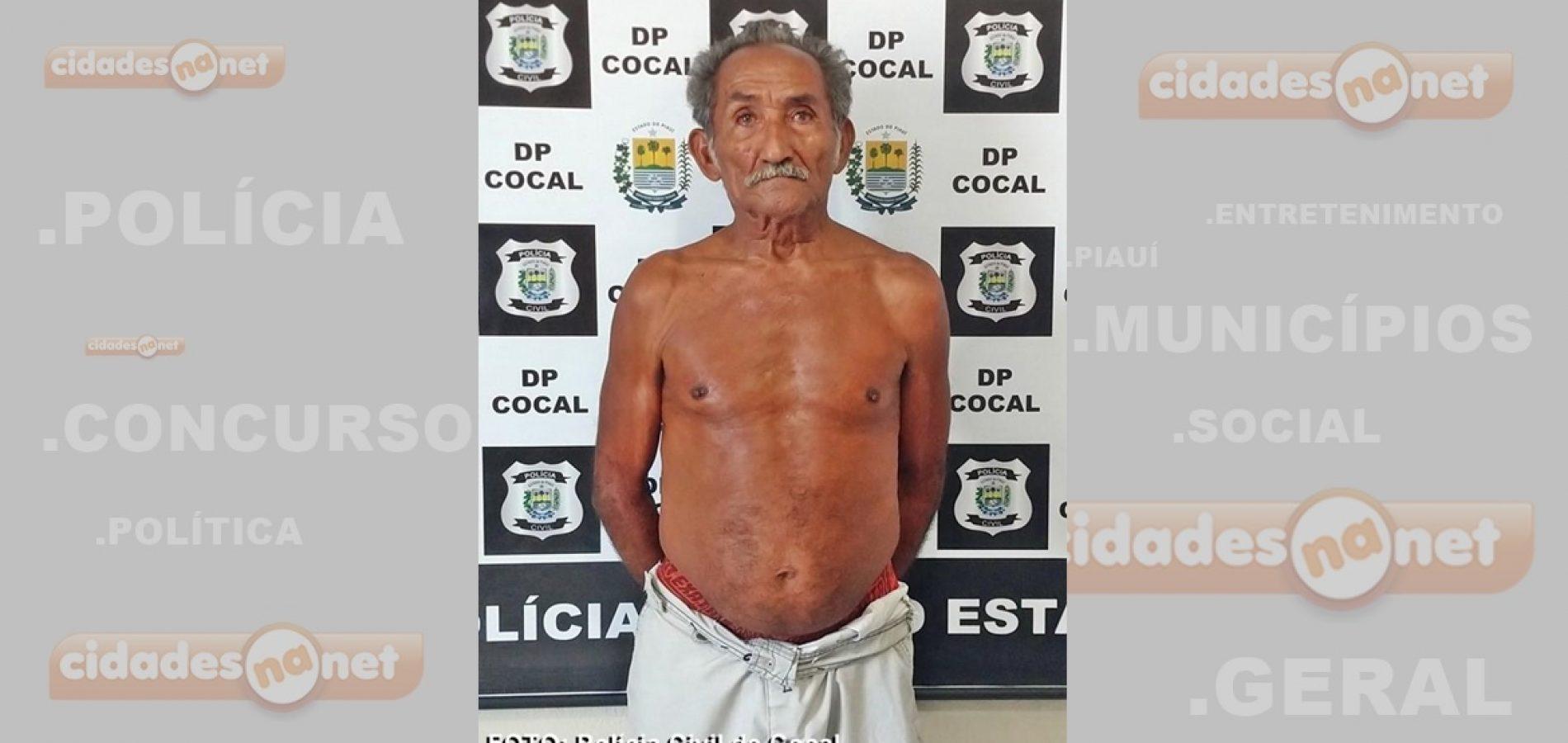 Polícia prende idoso acusado de abusar de duas bisnetas no Piauí